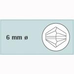 Kristall-Schliffp. 6mm