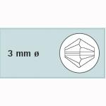Kristall-Schliffp. 3mm