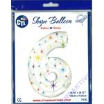 Zahlen-Ballons 106cm