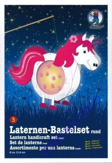 Laternen-Bastelset Einhorn