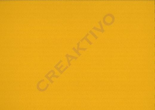 3D-Bastelwellkarton 50x70 cm gelb