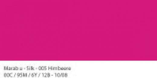 Marabu Silk Seidenfarbe 50ml himbeere