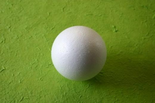 Styropor-Kugel 5cm voll