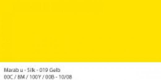 Marabu Silk Seidenfarbe 50ml gelb