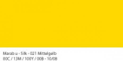 Marabu Silk Seidenfarbe 50ml mittelgelb