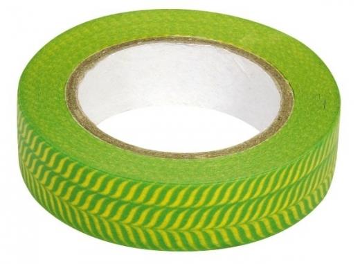 Rayher Washi Tape Fischgrät grün