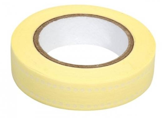 Rayher Washi Tape Punkte Duo creme