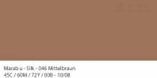 Marabu Silk Seidenfarbe 50ml mittelbraun