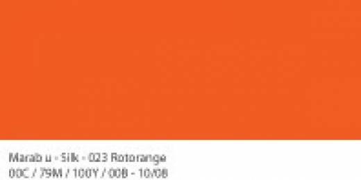 Marabu Silk Seidenfarbe 50ml rotorange