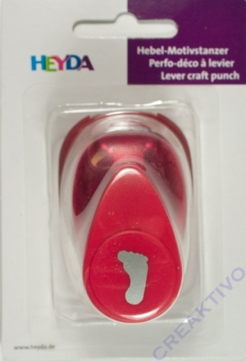 Heyda Hebel-Motivstanzer klein Fuss