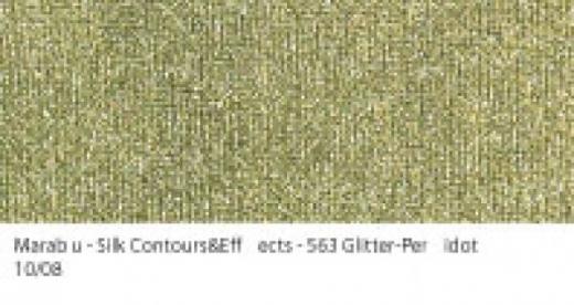 Marabu Contours & Effects Liner 25ml Glitter-Peridot