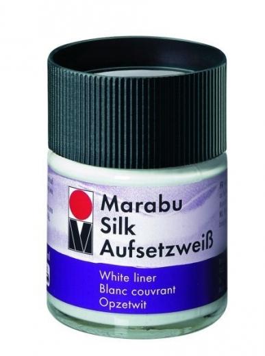 Marabu Silk Aufsetzweiß 50ml