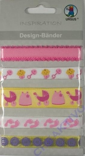 Design-Bänder Baby Mädchen