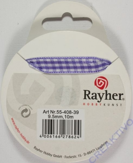 Rayher Karoband 9,5mm lila