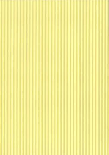 Bastelkarton Happy Papers Streifen DIN A4 sonnengelb