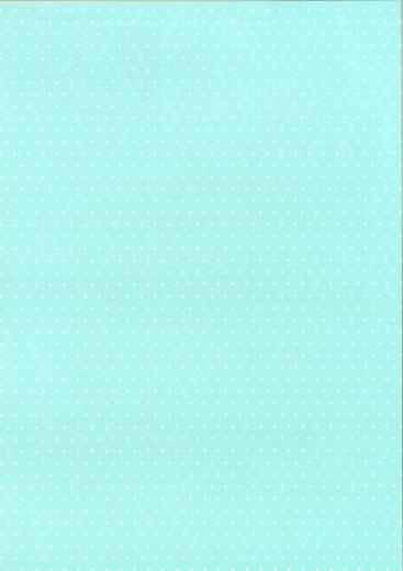 Bastelkarton Happy Papers Punkte DIN A4 hellblau (eher mintfarben)