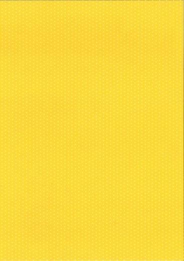 Pünktchen-Fotokarton DIN A4 gelb