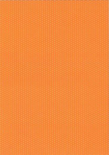 Pünktchen-Fotokarton DIN A4 orange