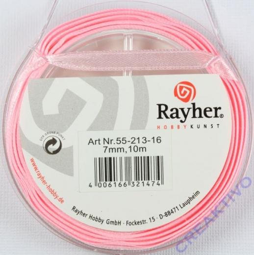 Rayher Satinband 7mm 10m rosé