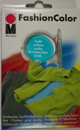 Marabu Fashion Color für die Waschmaschine - karibik