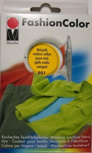 Marabu Fashion Color für die Waschmaschine - maisgelb