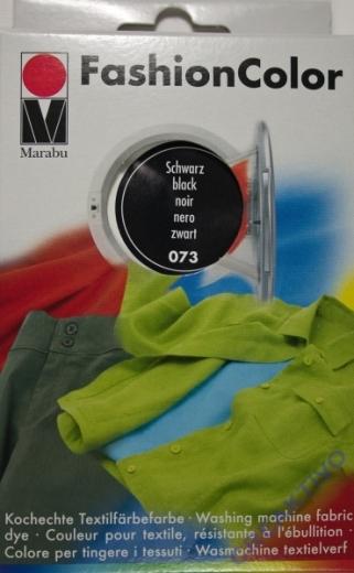 Marabu Fashion Color für die Waschmaschine - schwarz