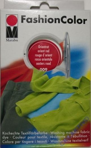 Marabu Fashion Color für die Waschmaschine - orientrot