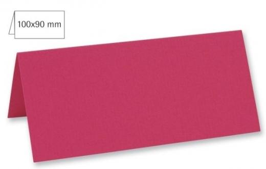 Tischkarte doppelt 100x90mm 220g pink