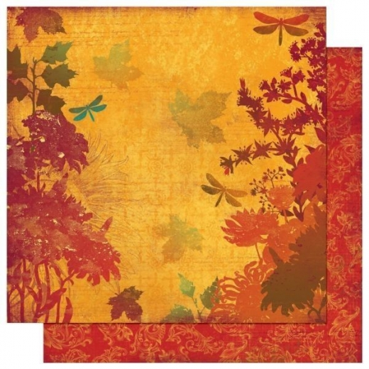Scrapbooking Papier Forever Fall Nature (Restbestand)