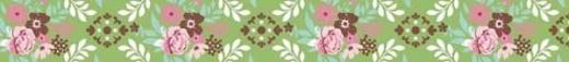 Fabric Tape - Sommergarten grasgrün