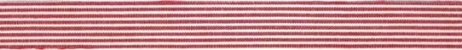 Fabric Tape - Streifen klassikrot