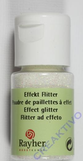 Rayher Effekt Glitter ultrafein mondstein