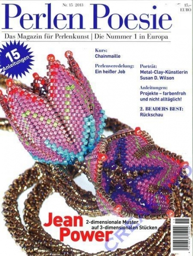 Perlen Poesie Nr. 15 2012 - Das Magazin für Perlenkunst