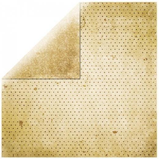 Scrapbooking Papier Bo Bunny Vintage vanille / chiffon