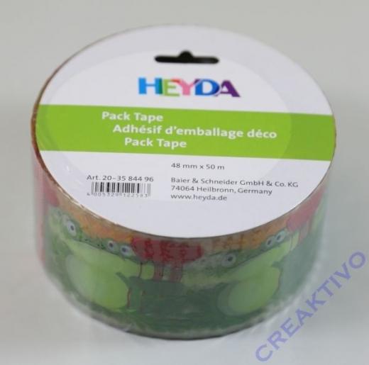 Heyda Pack Tape Frösche