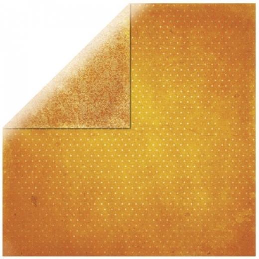 Scrapbooking Papier Bo Bunny Vintage orange