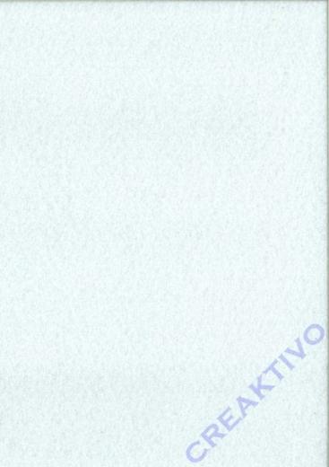 Rayher Textilfilz 2mm Bogen 30x45cm weiß