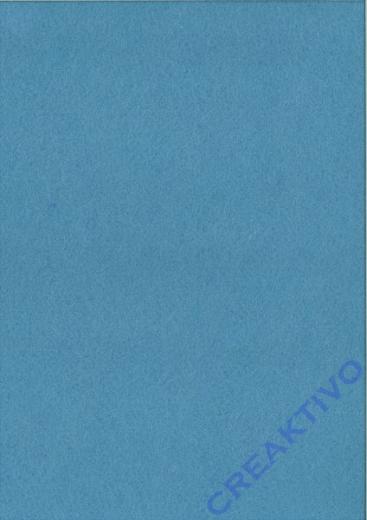 Rayher Textilfilz 2mm Bogen 30x45cm hellblau