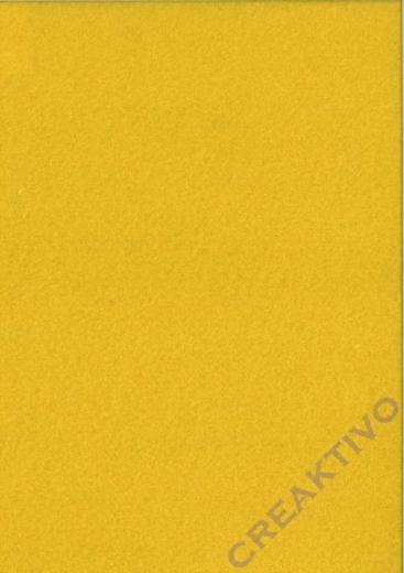 Rayher Textilfilz 2mm Bogen 30x45cm gelb