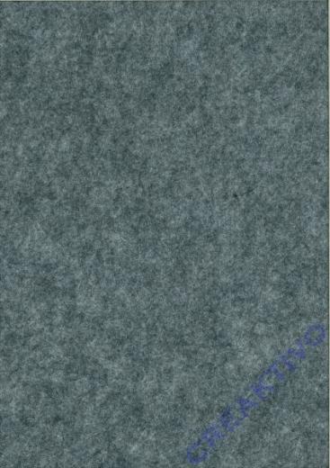 Rayher Textilfilz 2mm Bogen 30x45cm grau