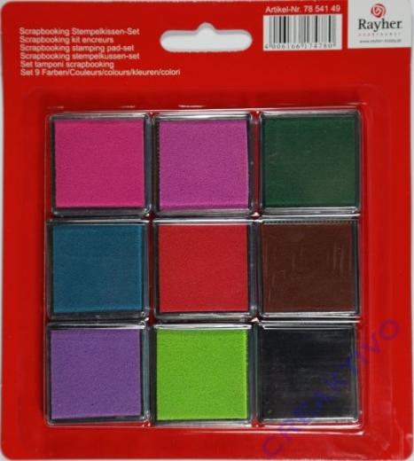 Rayher Scrapbooking Stempelkissen-Set
