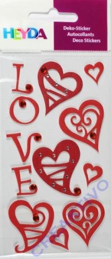 Heyda Sticker Herzen