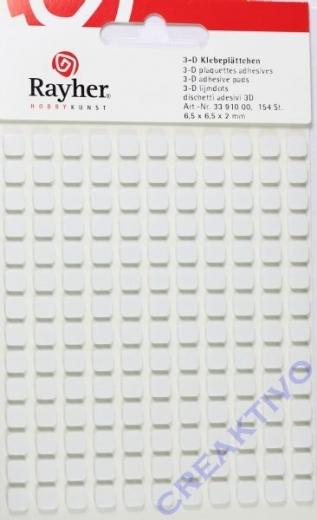 Rayher 3-D Klebeplättchen