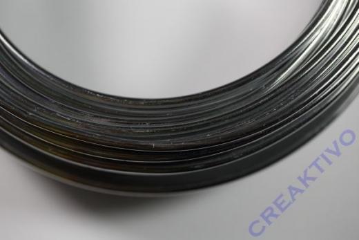 Alu Draht 3mm silber Meterware