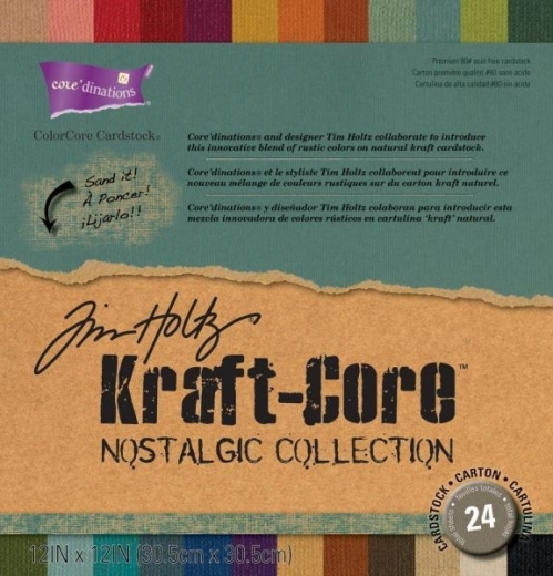 KraftCore Set Tim Holtz - 24 Blatt