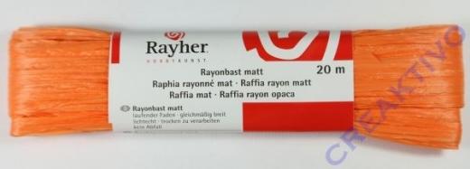 Rayonbast matt 20m orange