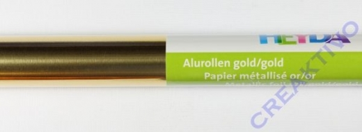 Alufolie gold/gold