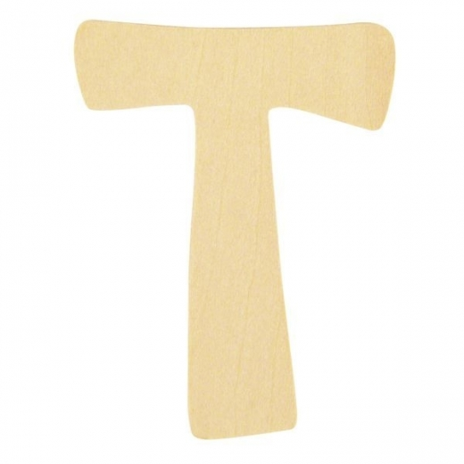 Holz-Buchstabe 6cm T