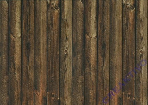 Motiv-Fotokarton 300g/qm 49,5x68cm Holz braun