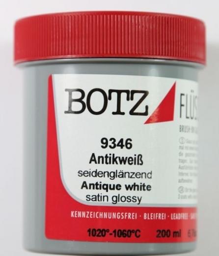 Botz Flüssigglasur 200ml antikweiß